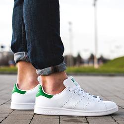 Giày Stan Smith Green / Nam (Hàng chính hãng)