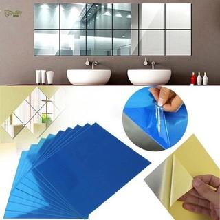 Set 16 miếng gương dẻo dán tường - kwyiuwr thumbnail