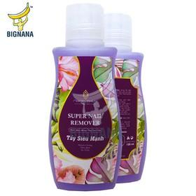 Nước Rửa Móng Tay Cao Cấp, Tẩy Siêu Sạch, Nhanh Chóng, Có Vitamin Không Làm Khô Da, Chai 125ml - NRM125ML
