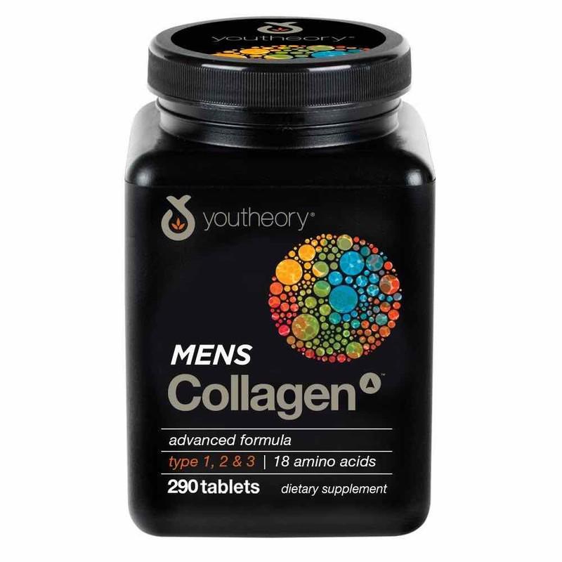Collagen men Youtheory Mens Collagen cho Nam – type 1 2 & 3 290vien – SL767