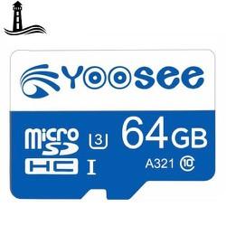 [ Deal Sốc ] Thẻ nhớ microSD Yoosee 64GB U3 Class10 Chuyên Dụng Cho Camera Wifi và Điện Thoại