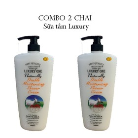 [ Combo 2 Chai ] Sữa Tắm Dê Luxury kháng khuẩn - Luxury kháng khuẩn