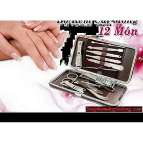 Bộ dụng cụ chăm sóc móng tay sang trọng - Bộ chăm sóc móng 12 món Tốt