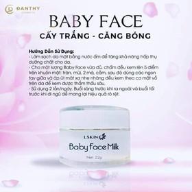 BABY FACE MILK Cream cấy trắng - KEM FACE KÉN TẰM-1
