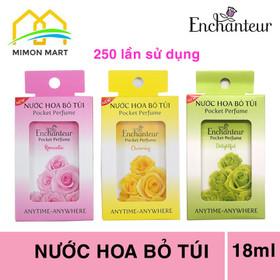 Nước hoa bỏ túi Enchanteur 18ml mẫu mới 250 lần sử dụng - NH-EN