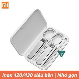 Bộ cắt móng inox 5 món Xiaomi Mijia - Bộ dụng cụ làm móng Xiaomi Mijia - Mijia Nail
