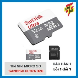 thẻ nhớ 32gb ultra thẻ nhớ điện thoại