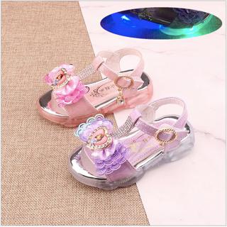 Giày sandal bé gái công chúa Sofia có đèn Led từ 1- 6 tuổi