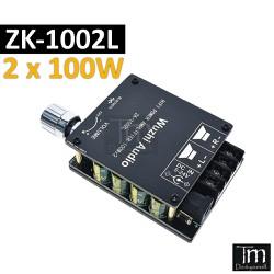 Mạch Khuếch Đại Âm Thanh Bluetooth 5.0 HIFI 2*100W (ZK-1002L)
