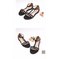 giày big size nữ sandal bệt size lớn 40 41 42 43