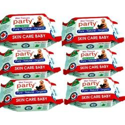 [FREESHIP] Combo 10 khăn ướt Party 80g