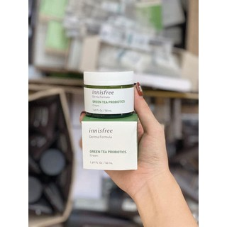 Kem Dưỡng Ẩm Innisfree Derma Formula Green Tea Probiotics Cream 50ml - Innisfree 25 thumbnail
