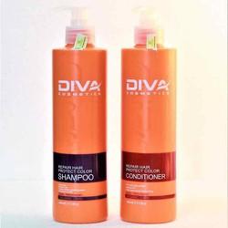 [TA Hỗ trợ phí vận chuyển] Bộ dầu gội xả Diva dưỡng và phục hồi tóc