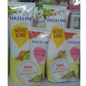 [ Mua 1 tặng 1] Sữa Rửa Mặt Ngừa Mụn trắng da Chiết Xuất Nghệ Hazeline 50g - SRMH24