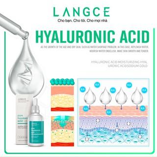 Bộ Tẩy Tế Bào Chết Da Mặt 100ml và Serum Collagen+ Hyaluronic Acid Dưỡng Da 100ml LANGCE - LA565-428 7