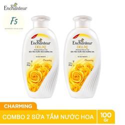 Combo 2 Chai Sữa Tắm Nước Hoa Enchanteur Deluxe 100gr