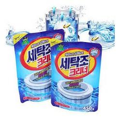 Sét 3 Gói Bột Tẩy Vệ Sinh Lồng Giặt Chính Hãng Hàn Quốc 450G