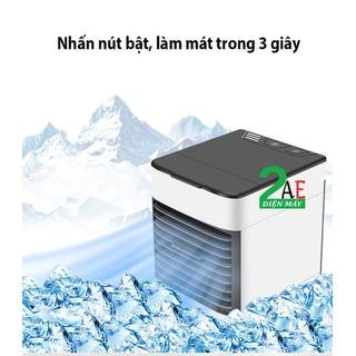 Quạt làm mát không khí bằng hơi nước mini có đèn - QUAT-21 thumbnail