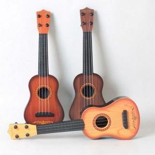Đàn ghita nhựa giả gỗ cho bé - Đàn đồ chơi - DANGHITA-1- đàn ghita thumbnail