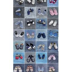 Giày tập đi cho bé gái có chống trượt đế vải