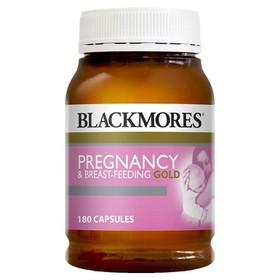 viên bổ tổng hợp cho bà bầu Blackmores Pregnancy Gold 180 viên của Úc - Bổ sung vitamin cần thiết cho bé phát triển toàn diện cho bé ngày từ khi ở trong bụng mẹ. - blackmoren