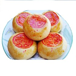 [1hộp] Bánh Pía mini nhân đậu xanh sầu riêng (5 cái) khoảng 140gr