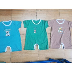 áo liền quần cho bé trai 6 - 12 tháng