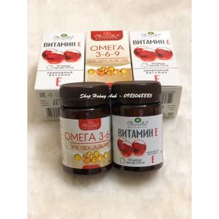Bộ đôi Omega369 hộp 100 viên + vitamin e hộp 30 viên hãng Mirrolla Nga - BB102 thumbnail
