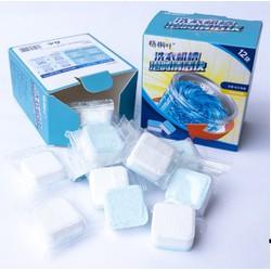 Hộp 12 Viên Sủi Tẩy Vệ Sinh Khử Mùi Lồng Máy Giặt
