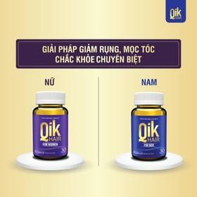 Qik Hair - Viên Uống Giảm Rụng , MọcTóc - Qik Hair