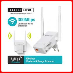 Bộ kích sóng Wifi TotoLink EX200 Chuẩn tốc độ 300Mbps Chính hãng - BH24 Tháng