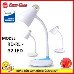 Đèn bàn LED bảo vệ thị lực Rạng Đông RD-RL 32 Led ánh sáng vàng