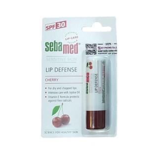 Son dưỡng chống khô nứt môi hương cherry màu đỏ đậm Sebamed pH5.5 Sensitive Skin Lip Defense Cherry 4.8g - SEB03 thumbnail
