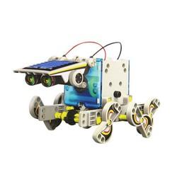 ĐỒ CHƠI LẮP GHÉP - Bộ Robot lắp ghép năng lượng mặt trời 13in1 9012
