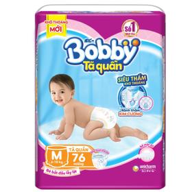 Tã quần Bobby M76, L68, XL62, XXL56 - Quần bobby M76, L68, XL62, XXL56