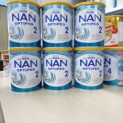 Combo 6 lon Sữa NAN NGA Số 2 800G _Sữa Nan Nga Chính Hãng sách Tay Date 2022