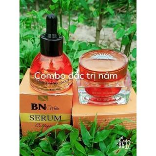 Bộ kem face và serum trị nám mụn tàn nhan - 014 1
