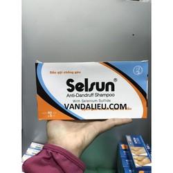 DẦU GỘI SELSUN ANTI- DANDRUFF SHAMPOO WITH SELENIUM SULFIDE (  60 GÓI X 5ML )