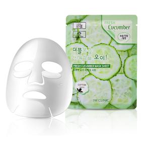[MUA 10 FREE SHIP] Mặt nạ giấy dưỡng da 3W CLinic 23ml Hàn Quốc [1 MIẾNG] - 3W CLinic