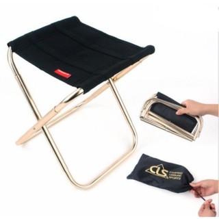 Ghế mini xếp gọn bỏ túi Camping Gold Aluminium 7075 - ghe1 thumbnail