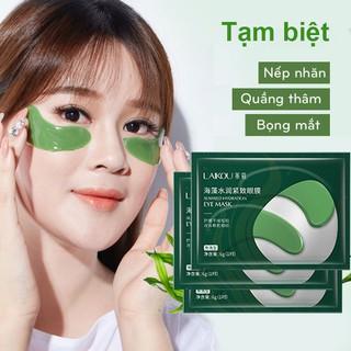 Combo 3 Mặt nạ mắt giảm quầng thâm và nếp nhăn LAIKOU mặt nạ mắt tảo biển mặt nạ dưỡng mắt mặt nạ nội địa Trung - KR-MN14 thumbnail