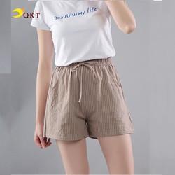Quần short nữ nhiều màu mặc mát QKT QT36