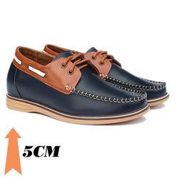 Giày tăng chiều cao nam T03, cao 5cm