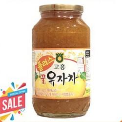 [nhập SD7N4G còn 138k]Trà Chanh Mật Ong Hàn Quốc Cao Cấp 1kg