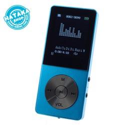 Máy nghe nhạc mp3 JS-09 bộ nhớ trong 8GB 10h phát nhạc tặng tai nghe và dây sạc