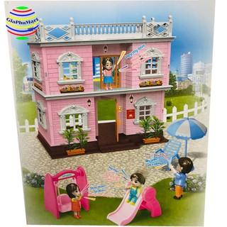 Ngôi Nhà Búp Bê - Nhà Villa Đồ Chơi Bé Gái - -Ngôi Nhà Búp Bê thumbnail