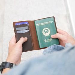 Ví đựng passport thời trang handmade quý phái sang chảnh