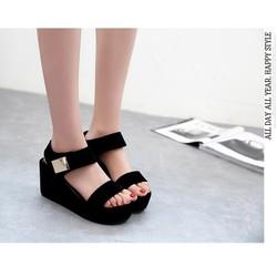 Giày Sandal Cao Gót Nữ - Dép Quai Hậu Nữ - Dép Quai Hậu Nữ Giá Rẻ Phong Cách Hàn Quốc