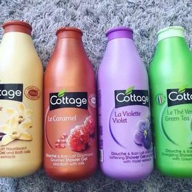 []Siêu sale mừng sinh nhật] Sữa tắm cottage 750ml ( giao mầu ngẫu nhiên) - Sữa tắm cottage