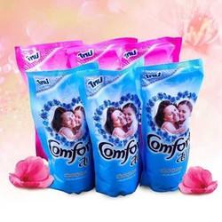 COMBO 3 bịch nước xả vải Comfore Thái Lan, Mỗi bịch dung tích 580ml